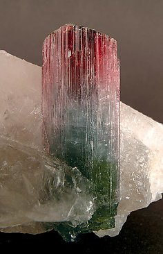 Elbaite with Quartz.