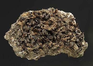 Hubeite with Inesite.