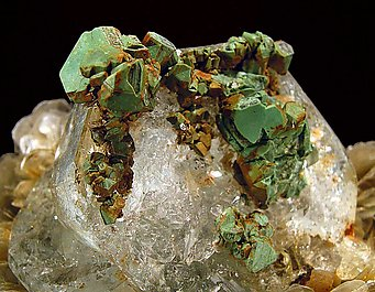 Kësterite and Mushistonite with Beryl.