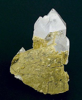 Quartz with Siderite.