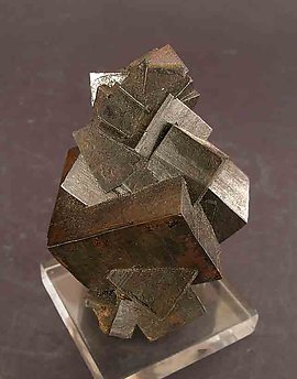 Limonite after Pyrite.