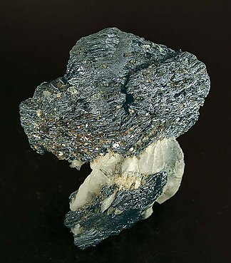 Molybdenite with Quartz and Mica.