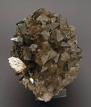 Quartz with Goethite inclusions.