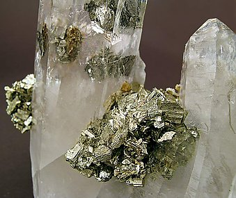 Quartz with Arsenopyrite & inclusions.