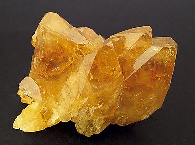 Baryte. Front