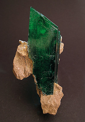 Vivianite. Side