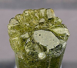 Vesuvianite doubly terminated. Top