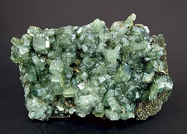 Fluorapatite with Schorl-Dravite.