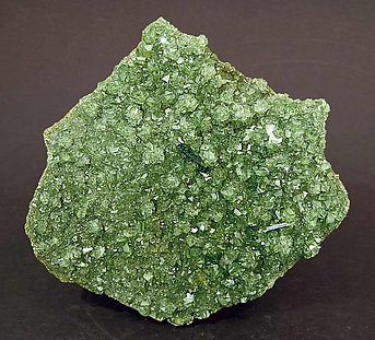Ludlamite with Vivianite.