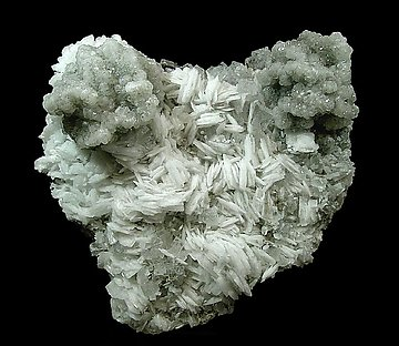 Calcite on Baryte.