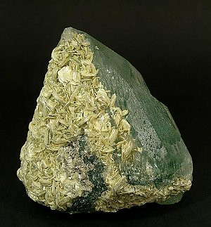 Beryl with Muscovite. Left