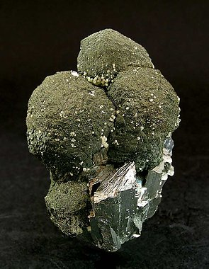 Stannite with Sphalerite and Arsenopyrite.