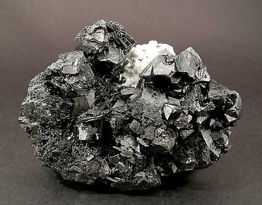 Cassiterite with Zinkenite.