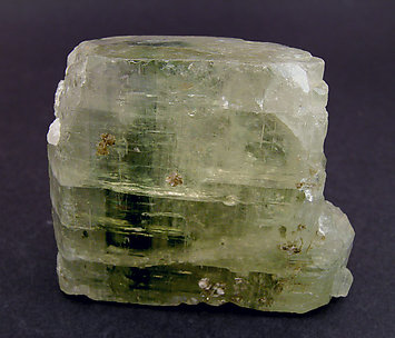 Doubly terminated Fluorapatite.