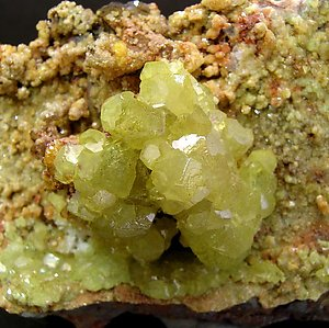 Smithsonite (cadmium rich).