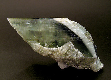 Fluorapatite with Calcite. Rear