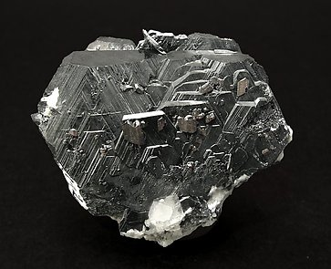 Hematite with Rutile. Front