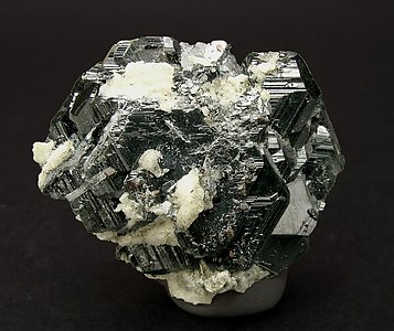 Hematite with Rutile. Rear