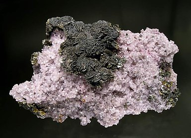 Cobaltoan Dolomite with Marcasite and Goethite.