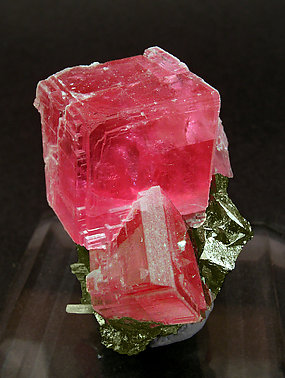 Rhodochrosite with Tetrahedrite and Quartz.
