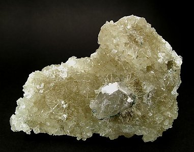 Prehnite with Quartz, Orthoclase and Clinozoisite-Epidote. Rear