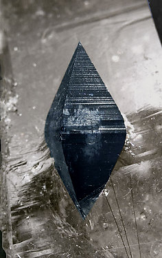 Anatase on smoky Quartz.