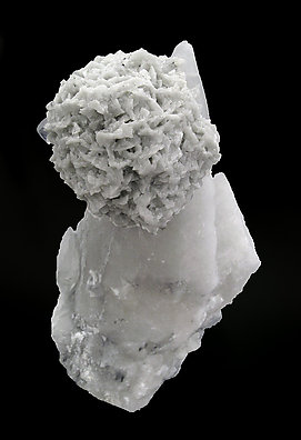 Calcite with Dolomite and Fluorite.