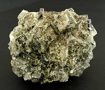 Fluorite with Pyrite.