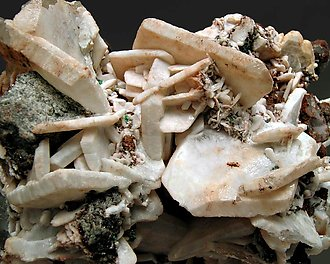 Cerussite with Anglesite.