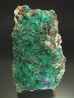 Brochantite with Linarite.