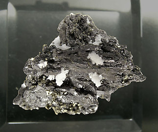 Polybasite with Chalcopyrite and Quartz. Top
