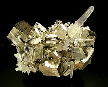 Pyrite with Quartz.