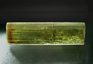 Doubly terminated Vesuvianite. Front