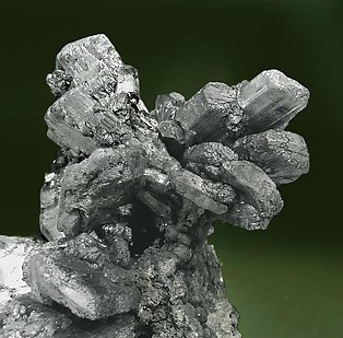 Stibnite with Marcasite.