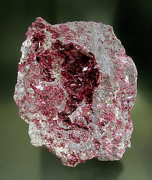 Erythrite with Roselite and Skutterudite.