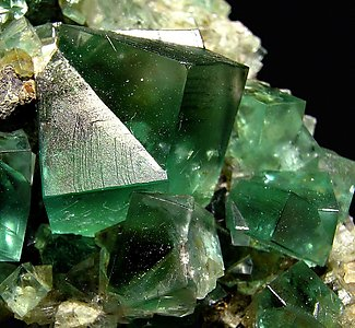 Fluorite with Galena.