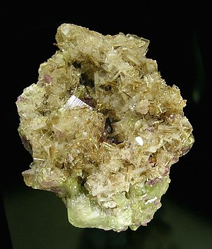 Diopside with Vesuvianite.