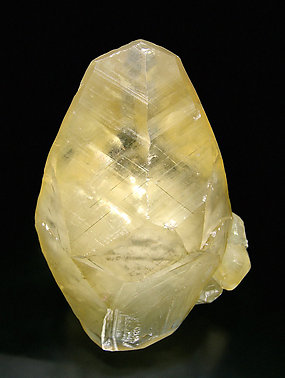 Doubly terminated Calcite. Front