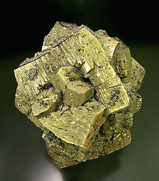 Pyrite. Front