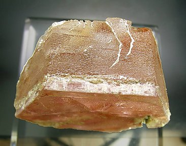 Beryl ( variety morganite). Top