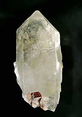 Xenotime-(Y) with Quartz and Rutile inclusions.