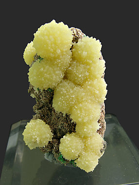 Mimetite with Duftite.