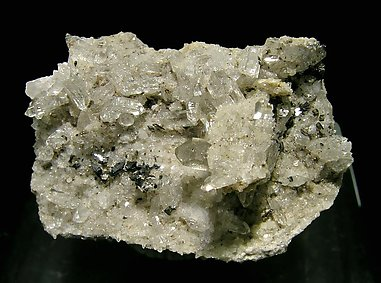 Anatase and Brookite with Quartz.