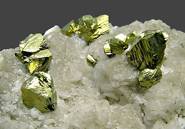 Chalcopyrite with Dolomite.