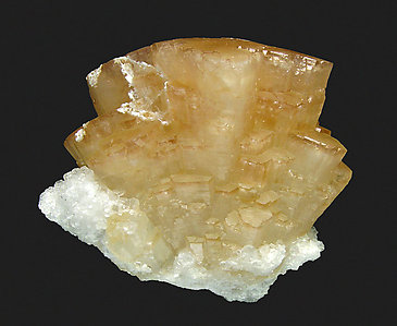 Strontianite with Calcite.