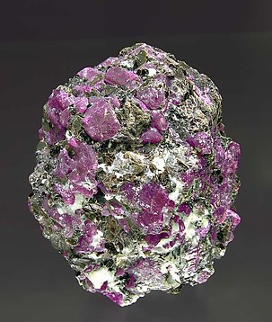 Corundum with Oligoclase and Biotite.