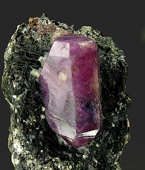 Corundum with Biotite.