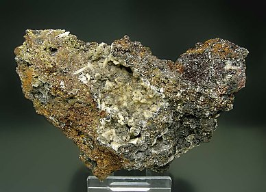 Willemite with Plattnerite.
