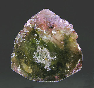Doubly terminated Elbaite. Top