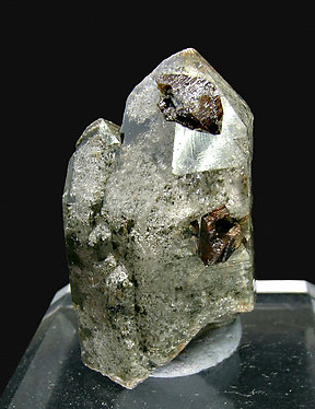Anatase with Quartz.